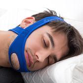 新款成人兒童防張口呼吸繃帶止鼾帶防下巴脫臼托帶打呼嚕阻鼾器tz8787【123休閒館】