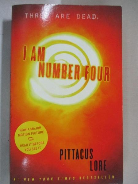 【書寶二手書T6/原文小說_GJK】I Am Number Four_Pittacus Lore