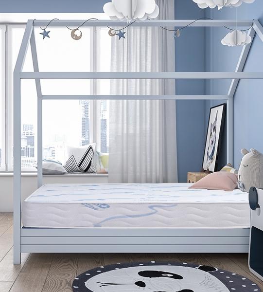 A款_【太空記憶墊+硬式獨立筒床墊】兒童記憶床墊 獨家技術添加負離子表布 6尺雙人加大 【YUDA】