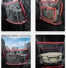 汽車儲物網兜座椅間收納袋掛袋車載用品彈力網車內置物放包神器 小時光生活館