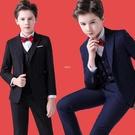 童裝西裝套裝兒童花童禮服韓版中大童男孩小西服外套鋼琴演出服秋 快速出貨
