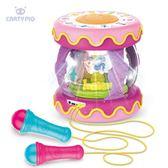 嬰兒可充電拍拍鼓 電動音樂益智玩具 3BQ4『夢幻家居』TW