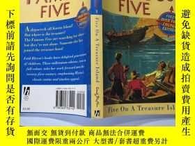 二手書博民逛書店the罕見famous five 著名的五個Y200392