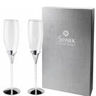 iSPARK 施華洛世奇水晶香檳杯(2入)【美人密碼】
