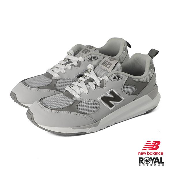 New Balance 109 灰色 皮質 休閒運動鞋 女款 NO.J0211【新竹皇家 WS109LC1】