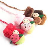 兒童手套冬保暖加絨加厚可愛卡通1/2/3歲小孩男女童寶寶針織連指
