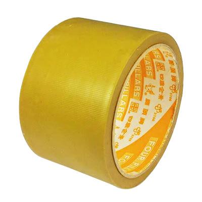 四維/鹿頭牌 2 1/2吋PVC可手撕布紋膠帶 60mm x12m