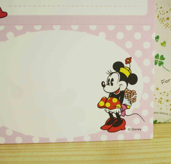 【震撼精品百貨】Micky Mouse_米奇/米妮 ~名片本附套-粉色