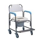 不鏽鋼洗澡椅便器椅(軟墊座)YH125...