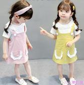 0-1-3歲2女嬰兒小裙子4幼童女寶寶連身裙夏季幼兒春裝女童裝公主