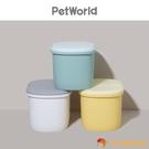 寵物儲糧桶狗糧貓糧密封儲存桶子寵物收納箱桶【小獅子】