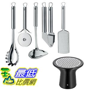 [104美國直購] 不銹鋼烹飪加工器套件 WMF  B012A4WGRI Taste of Italy Kitchen Tool Set With A Bonus