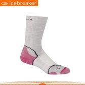 【Icebreaker 女 高功能健行襪《灰桃》】IBND15/抗臭襪/保暖/透氣快乾