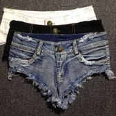 熱褲-性感修身顯瘦包臀低腰牛仔褲齊比破洞百搭超短褲齊B褲女夏熱褲