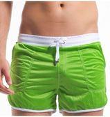 男士新款時尚寬鬆海邊速幹泳褲LVV391【kikikoko】