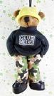 【震撼精品百貨】日本精品百貨~絨毛玩偶-人形熊-男生-迷彩褲