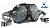 丹大戶外用品 德國【Deuter】Travel Belt 4.5L 腰包(黑/灰) 多層收納空間 透氣背負系統 斜背袋設計 39030