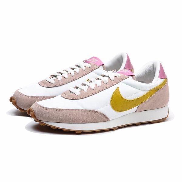 NIKE 休閒鞋 DAYBREAK 白粉黃 復古 日系 運動 女(布魯克林) CK2351-200