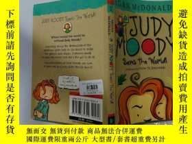 二手書博民逛書店Judy罕見Moody Saves the World! :朱迪穆迪拯救世界!Y200392