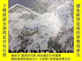 二手書博民逛書店1996年版罕見Mountains (Biomes of Nature) 山脈(自然生物群系) 精裝英文版Y2