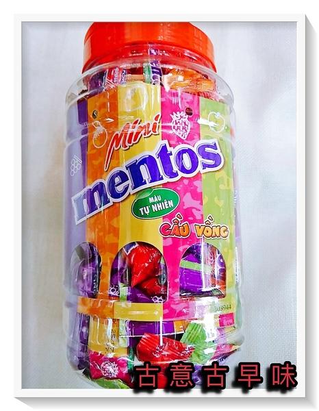 古意古早味 曼陀珠 綜合水果軟糖 (10gx75條) 懷舊零食 童玩 糖果 mentos