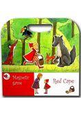 比利時 Egmont Toys 艾格蒙繪本風遊戲磁貼書:小紅帽