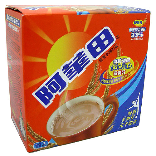 阿華田營養麥芽飲品-減糖隨身包(盒裝)20g*11入【愛買】