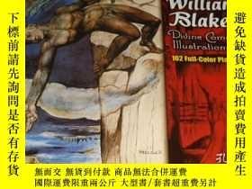 二手書博民逛書店2手英文罕見William Blake s Divine Com