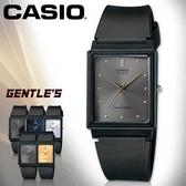 CASIO手錶專賣店 卡西歐  MQ-38-8A 女錶 指針表 膠質錶帶 扣帶式錶帶 鐵灰 壓克力鏡面