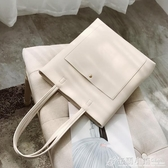 側背包 包包女新款潮韓版女包手提包學生托特大包夏天簡約百搭側背包 聖誕節鉅惠