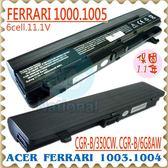 ACER 電池-宏碁 電池 FERRARI 1000,1003,1004,1005,CGR-B/350CW,LC.BTP01 系列 ACER 筆電電池