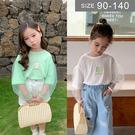 韓版女童短袖T恤。ROUROU童裝。夏女...
