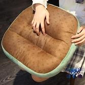 竹席涼席坐墊加厚增高辦公室椅墊防滑涼墊【古怪舍】