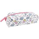 【日本進口正版】貓咪收集 帆布 筆袋 鉛筆盒 收納包 Neko atsume - 427792