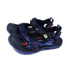 G.P (GOLD PIGEON) 阿亮代言 涼鞋 護趾 黑/藍 女鞋 G1642W-20 no472