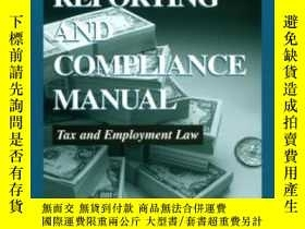 二手書博民逛書店2000罕見Business Owner s Reporting And Compliance Manual: T