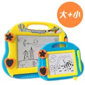 Baby創意學習磁性畫板 (兩入) 兒童磁性畫板 塗鴉板繪圖板 8340 玩具 好娃娃
