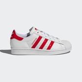 Adidas Superstar W [FX8729] 女鞋 運動 休閒 慢跑 貝殼 復古 經典 穿搭 愛迪達 白 紅