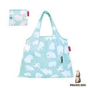 日本 Prairie Dog 設計包/環保袋/購物袋 - 北極熊
