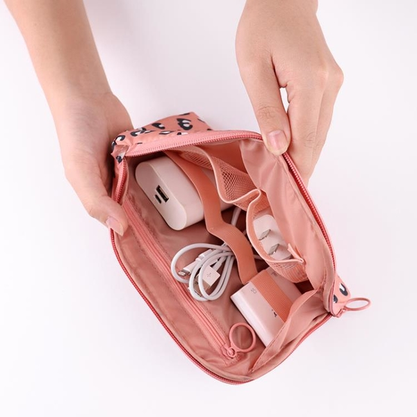 數碼收納包充電寶數據線大容量便攜旅行充電器耳機整理包收納袋 「店長推薦」