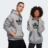 【陸壹捌折後$2180】adidas Hoodie Shmoo 灰色 帽TEE 帽踢 休閒 運動 GL9948