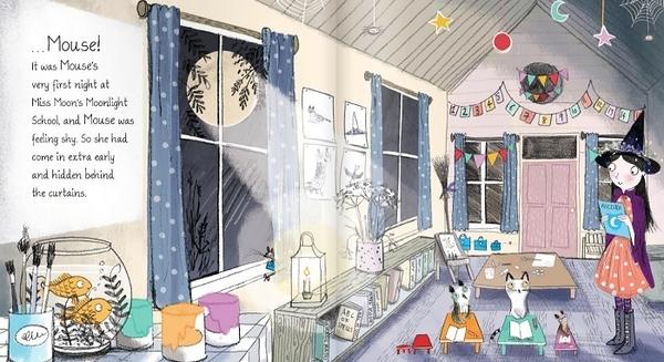 『線上聽.手上讀』MOUSE'E FIRST NIGHT AT MOONLIGHT SCHOOL /英文繪本 (免費線上聽故事)