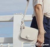 質感高級感包今年流行迷你斜挎包小眾設計小包包白色女 范思蓮思