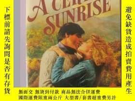 二手書博民逛書店日出罕見a certain sunrise(英文原版言情小說)