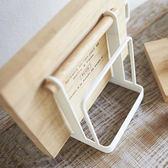 日式鐵藝砧板架廚房收納用品砧板架菜板架刀架置物架清新風格  HM  居家物語