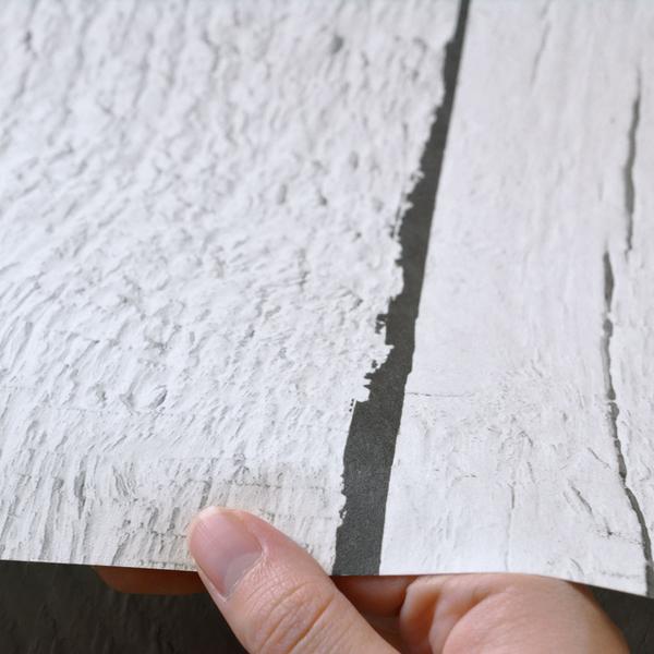 白色木紋 仿真(fake) 工業風 客廳壁紙 【荷蘭進口牆紙】Scrapwood Wallpaper by Piet Hein Eek2   PHE-11