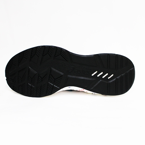 ASICS 亞瑟士 女 HYPERGEL-KAN 亞瑟膠 情侶鞋 襪套式 輕量 回彈 慢跑鞋 1022A032-100 白[陽光樂活]