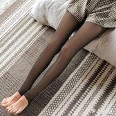 絲襪秋冬肉色加絨光腿絲襪假透肉膚色連褲保暖薄款打底褲子女zzy5189『伊人雅舍』