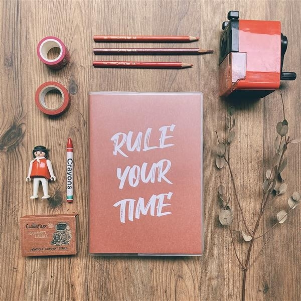 Rule Your Time 頁碼筆記本 v.2 [林檎]【Dimanche迪夢奇】