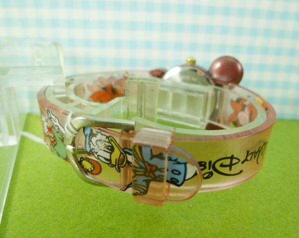 【震撼精品百貨】米奇/米妮_Micky Mouse~造型手錶-米奇大頭圖案-亮粉